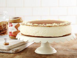 עוגת גבינה ולוטוס