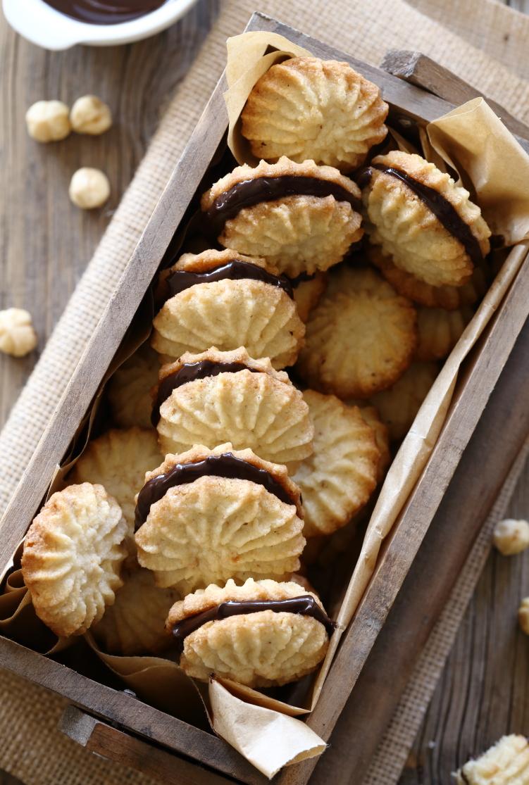 עוגיות סנדוויץ' נוטלה