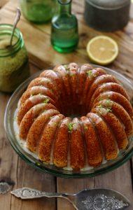 עוגת לימון ויוגורט