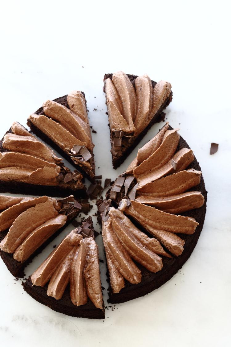עוגת נוטלה ובננה ללא גלוטן
