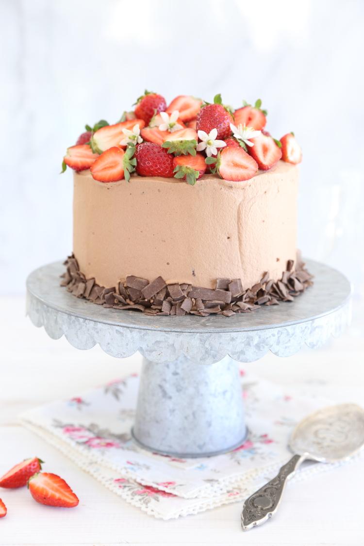 רולדת זברה תותים ושוקולד ללא גלוטן