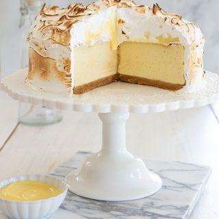 עוגת גבינה טארט לימון