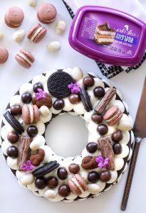 עוגת מספרים אוראו ומסקרפונה