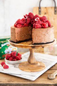 עוגת מוס שוקולד ופטל