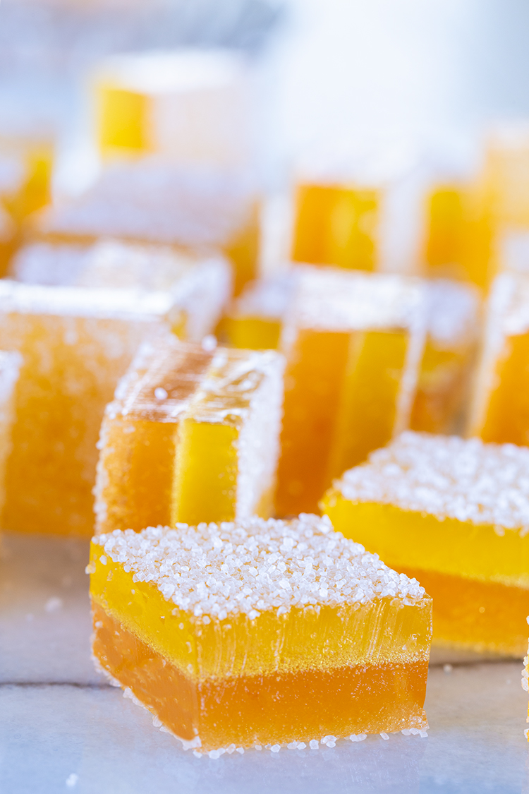 סוכריות ג׳לי פירות ביתיות