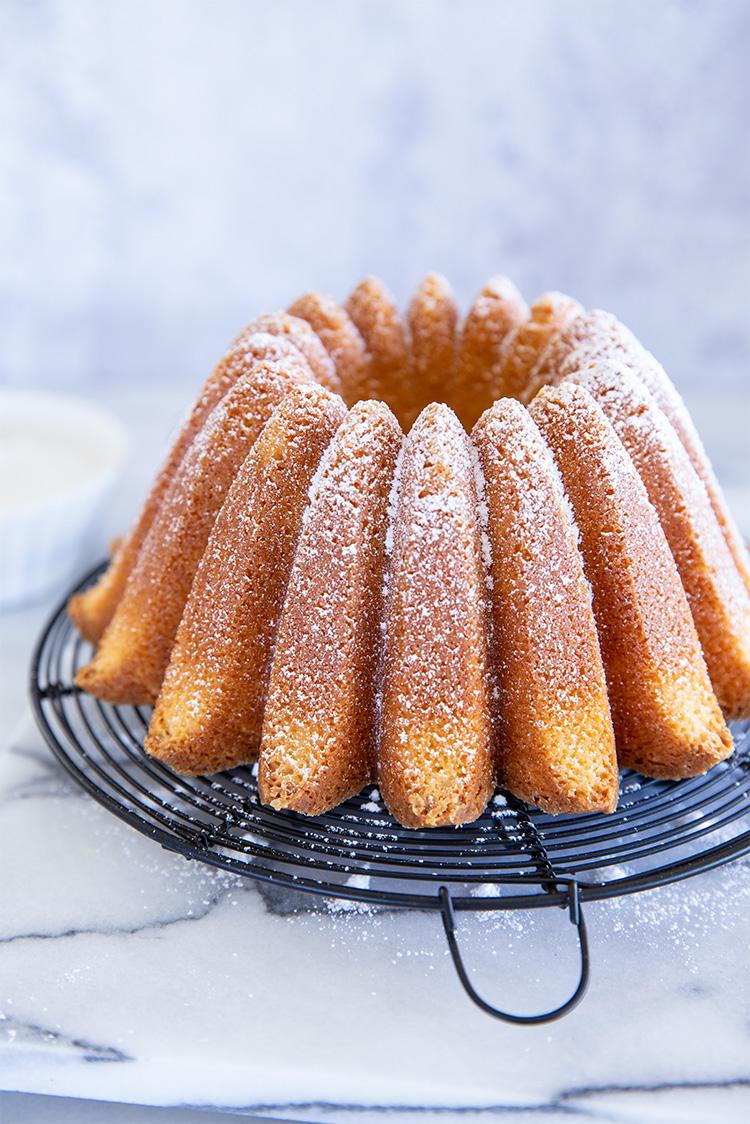 עוגת שקדים מהירה