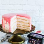 עוגת ביסקוויטים מסקרפונה ותות