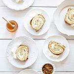 רולדת דבש, וניל ותפוחים