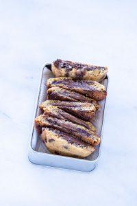 עוגיות שוקולד צ׳יפס ונוטלה