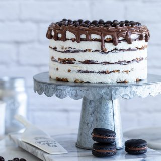 עוגת ביסקוויטים מסקרפונה ונוטלה