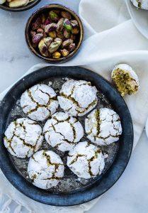 עוגיות פיסטוק איטלקיות