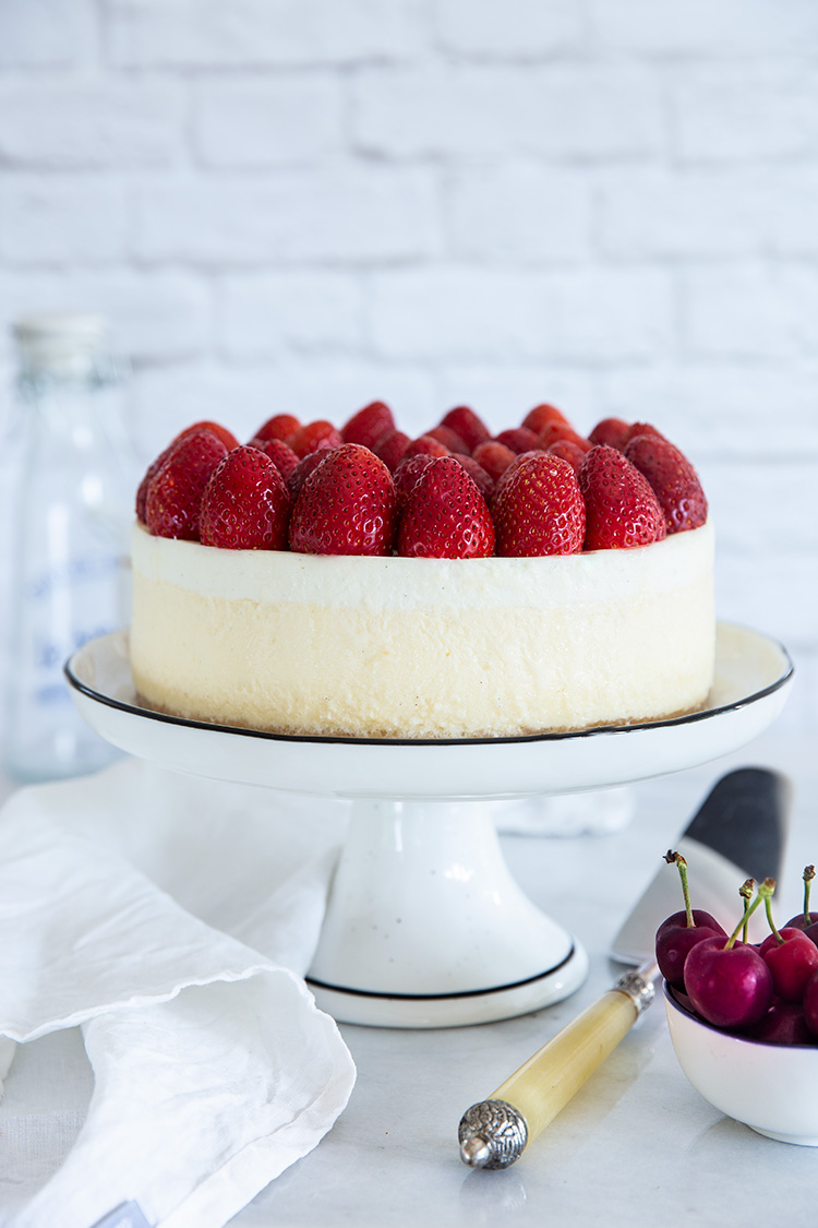 עוגת גבינה אפויה קלאסית