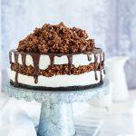 עוגת מסקרפונה ונוטלה קפואה