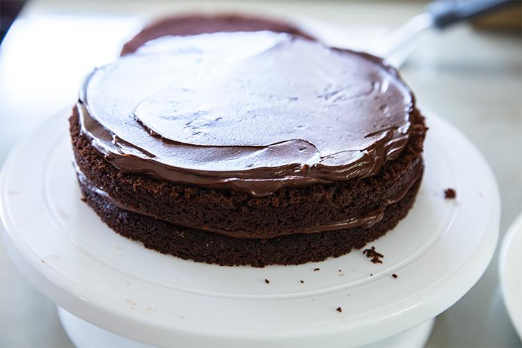 עוגת שכבות שוקולד