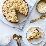 עוגת שקדים ודבש בחושה פרווה