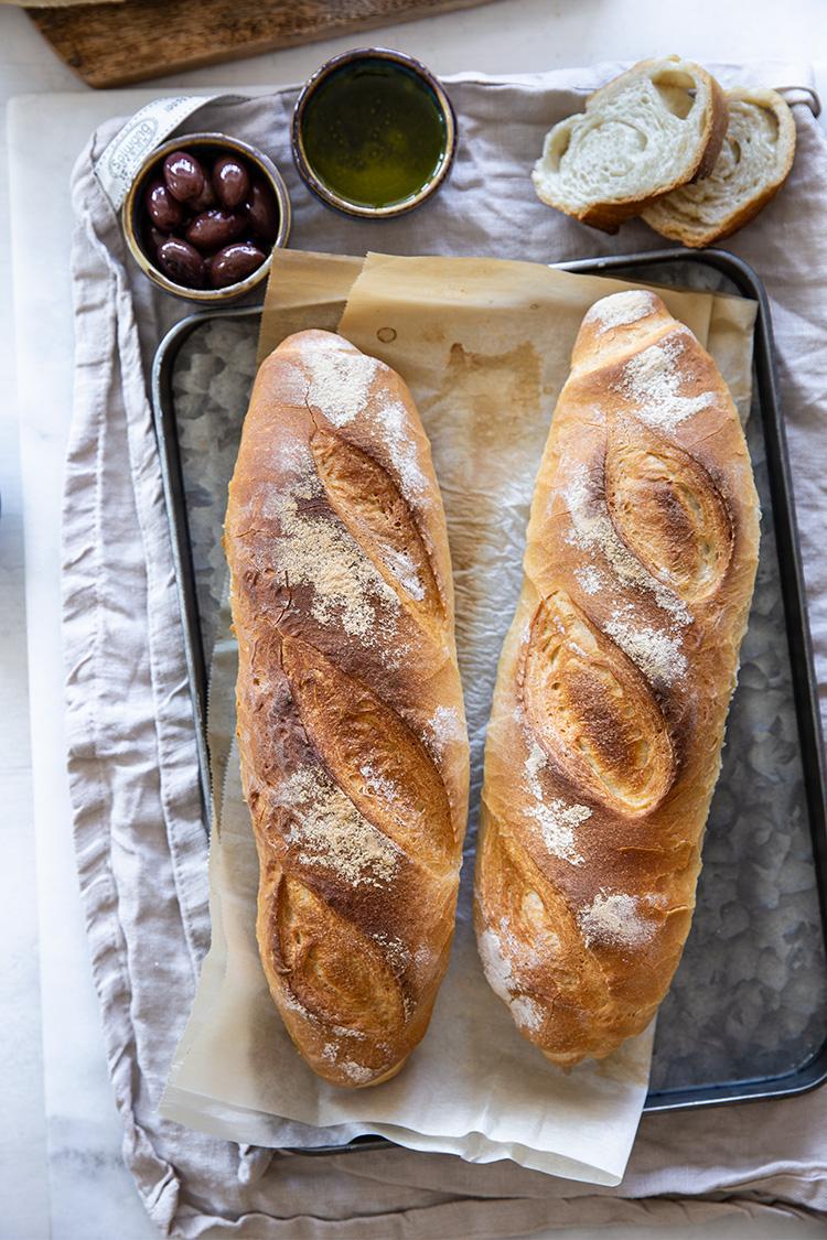 לחם פשוט וקל הכנה מקמח פיצה