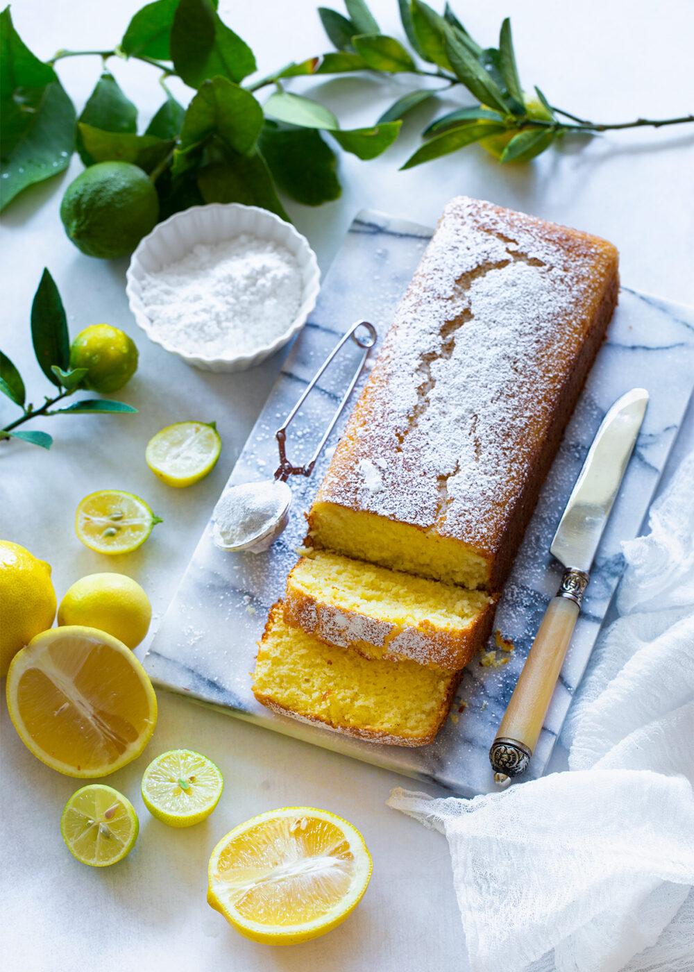 עוגת לימון בחושה פרווה מהירה וקלה להכנה