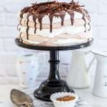 עוגת שכבות מרנג וקצפת (פרווה וללא גלוטן)