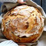 לחם זיתים מהיר הכנה